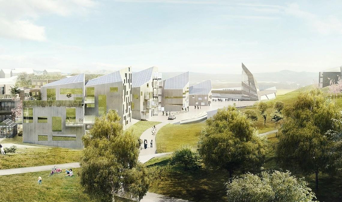 Får endelig bygge nullutslippslandsby